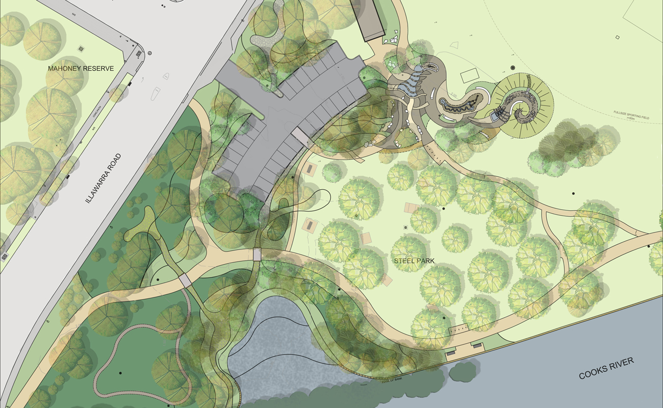 Ki studio marrickville water play park Cleansing concepts garden city