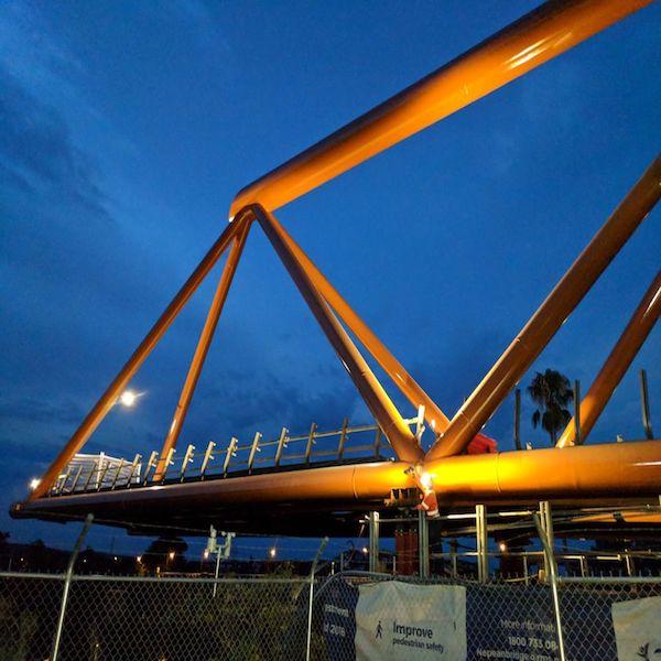 Nepean Bridge Geometric Award Winning Design by Ki Studio